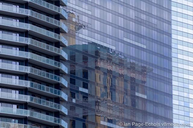 Las Vegas building reflections