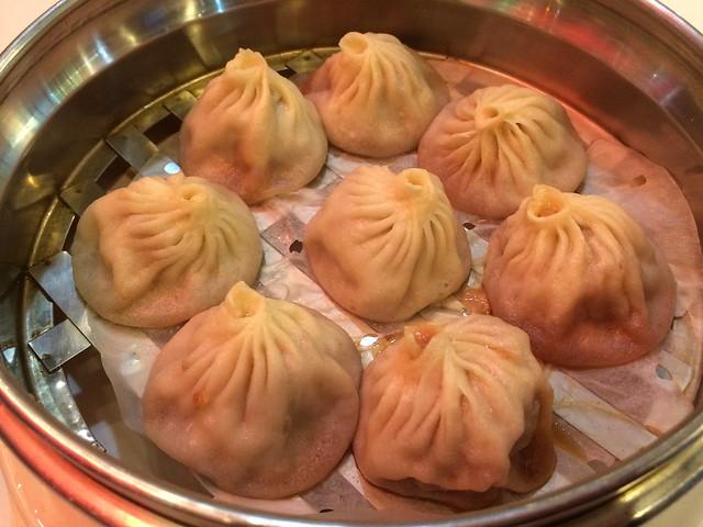 Shanghai steamed pork soup dumplings - Original Dim Sum Garden