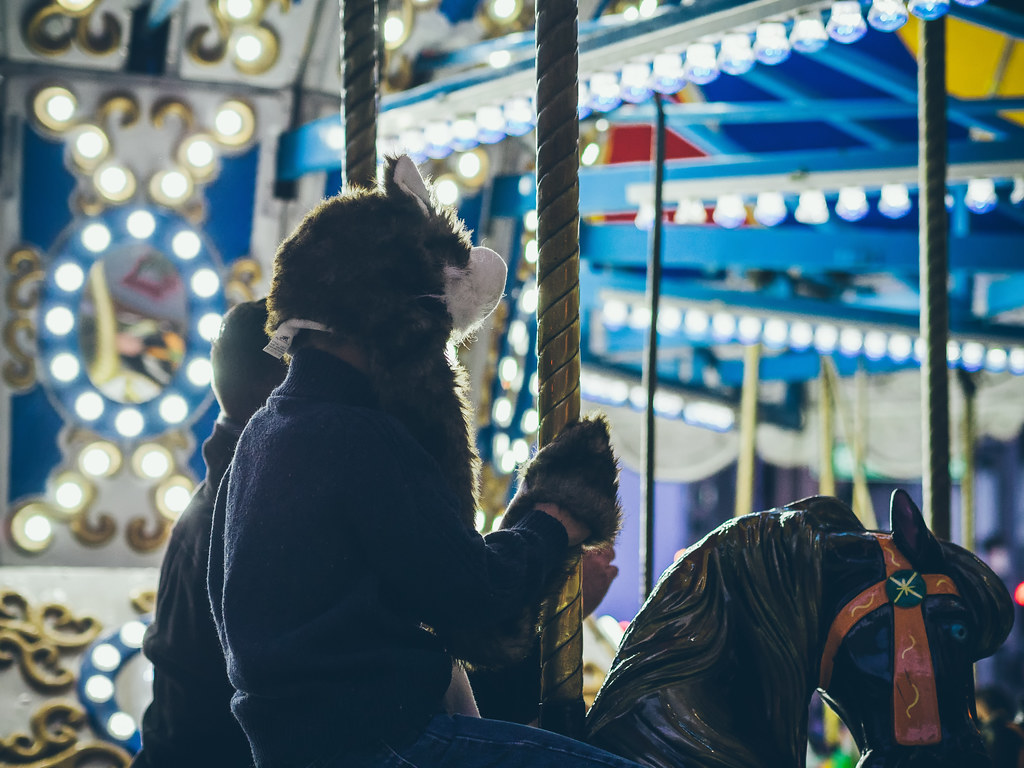 { always take time for the merry-go-round }