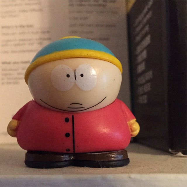 More figurine fun: Cartman.