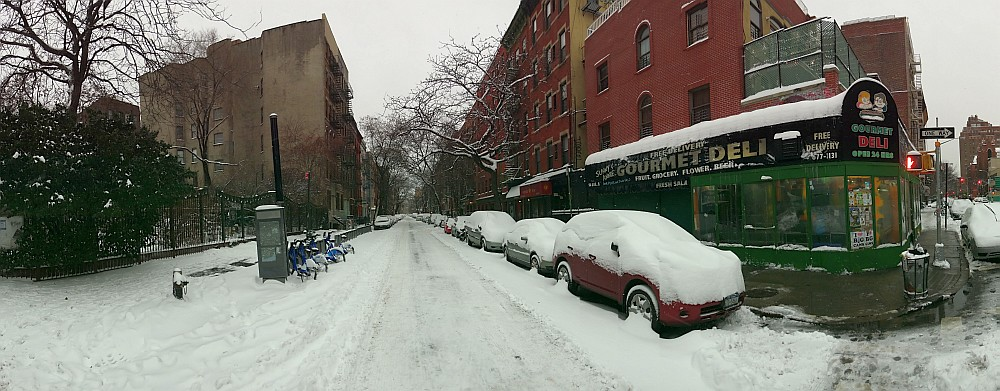 6th St Snow