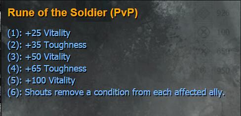 GW2 Warrior PvP rune v2