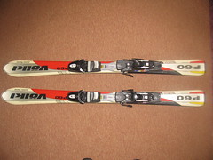 Dětské carvingové lyže Völkl P60 - titulní fotka