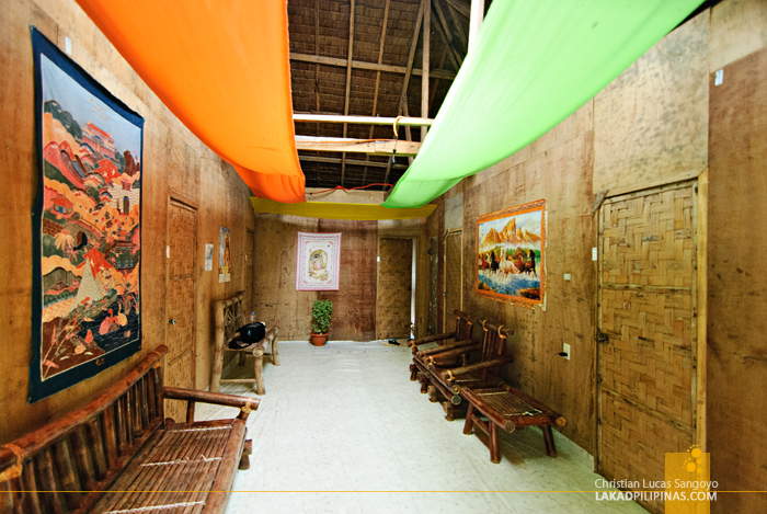 Common Area at Guisi Clearwater Beach Resort Hallway in Guimaras
