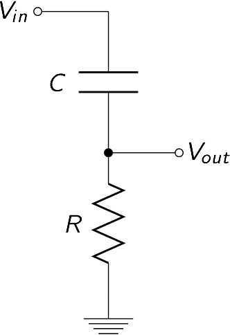 high pass circuit diagram