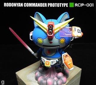 【玩具人goahead投稿】妖怪手錶機械貓改造Rodonyan Commander Prototype