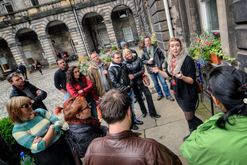 SANDEMANs Walking Tour of Edinburgh