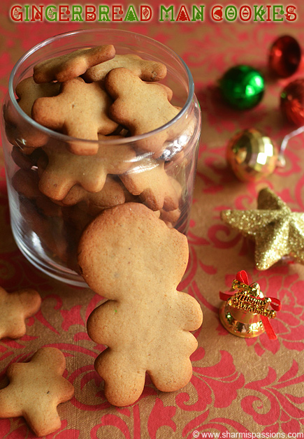 Gingerbread Man Cookies Recipe