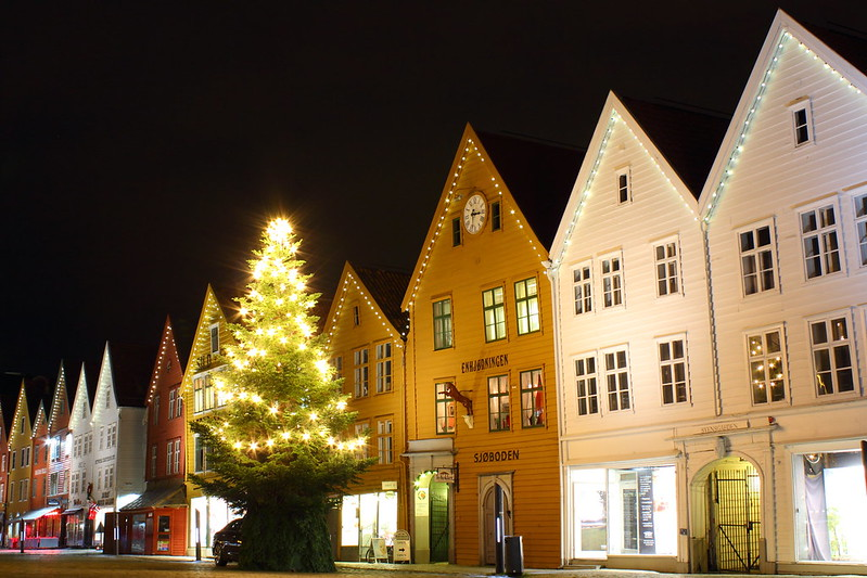 Christmas time in Bergen