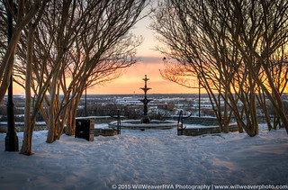 Libby Hill Snowy HDR