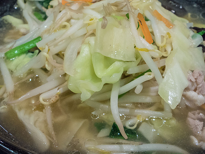野菜ラーメン塩