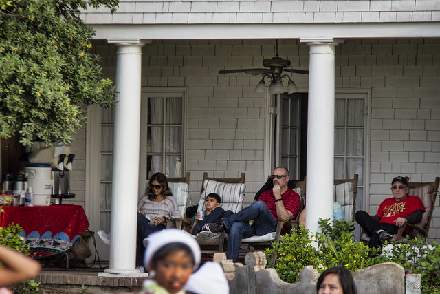 Downey Christmas Parade 2014 Spectators