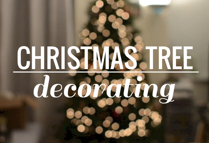 video, christmas tree decorating, christmas