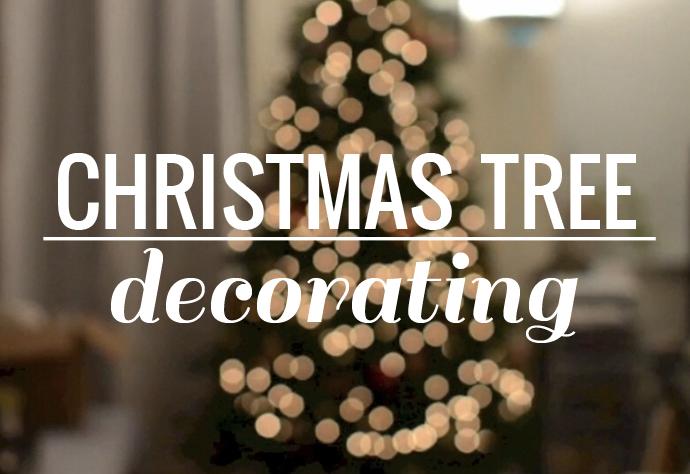 video, christmas tree decorating, christmas