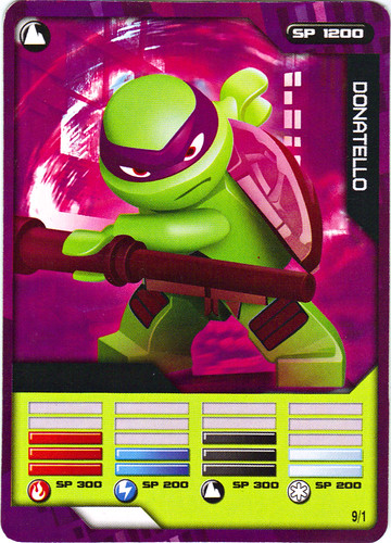 "Sheng Yuan TEENAGE MUTANT NINJA TURTLES :: ""SHREDDER"" Bootleg Minifigure Set / ..game card 9/1 ""DONATELLO"" (( 2014 ))"