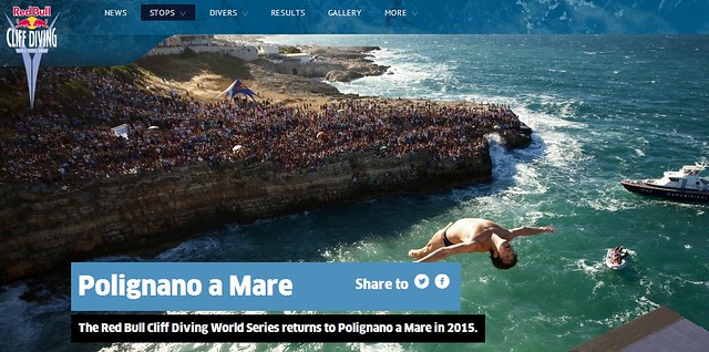 red bull cliff diving polignano 2015