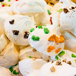 Meringues at Borough Market, London