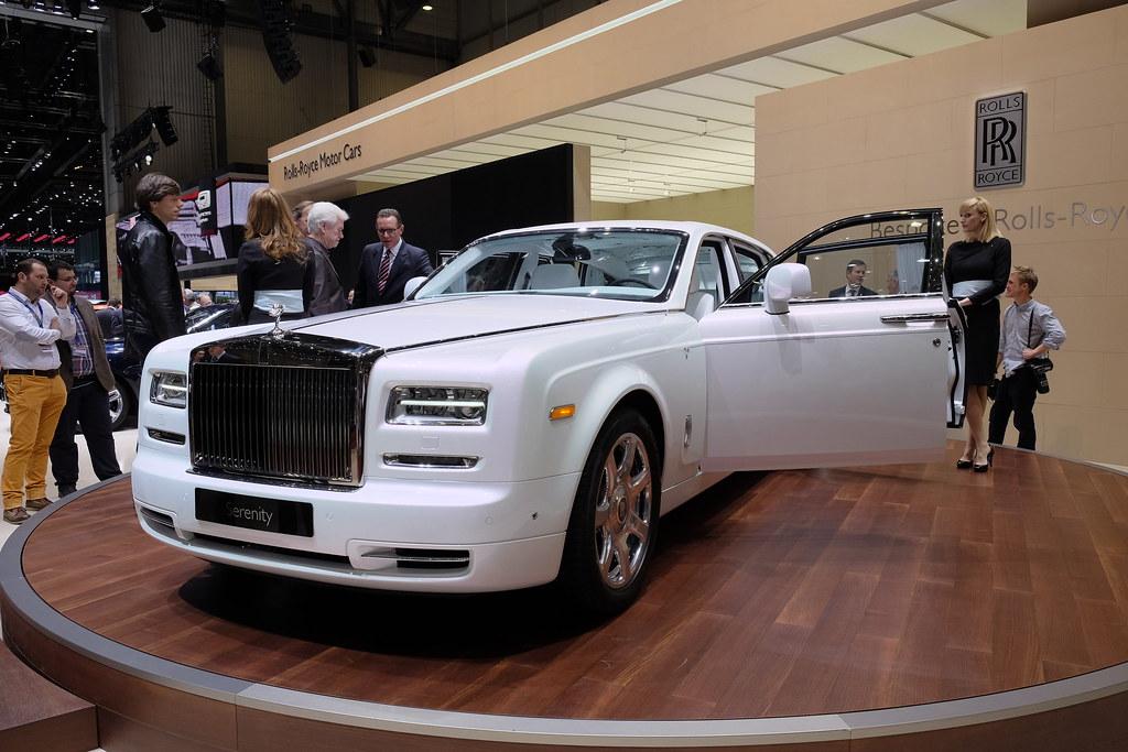 Rolls-Royce Serenity live photos: 2015 Geneva Motor Show