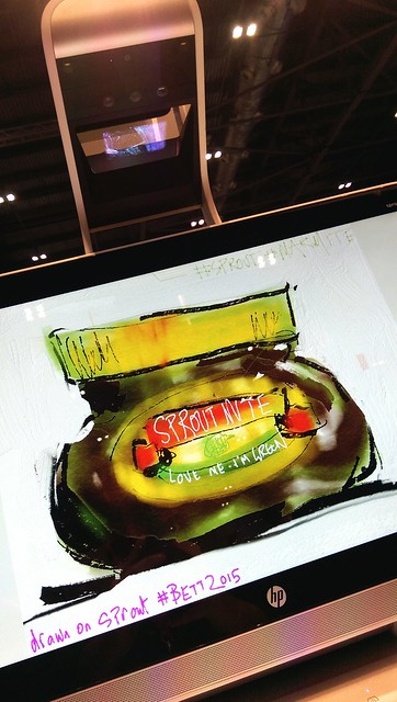 SproutMite by @HP. #FreshPaint at #BETT2015.