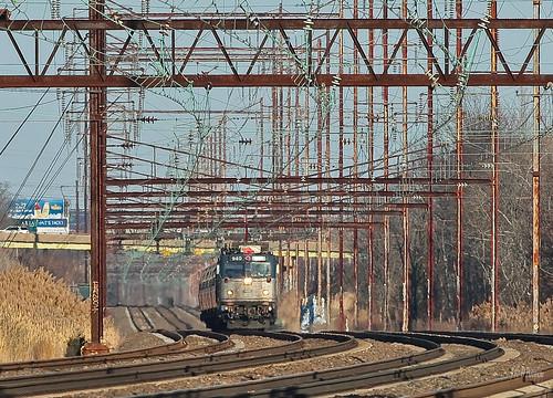 bristol trains amtrak septa levittown northeastcorridor aem7 pennsylvaniarailroad pennsy tullytown cornwellsheights northeastregional acs64