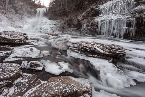 red cascades blueridgemountains frozenwaterfalls gilescounty cascadesva virginiawaterfalls