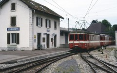 Trains le Locle les Brenets (Suisse)