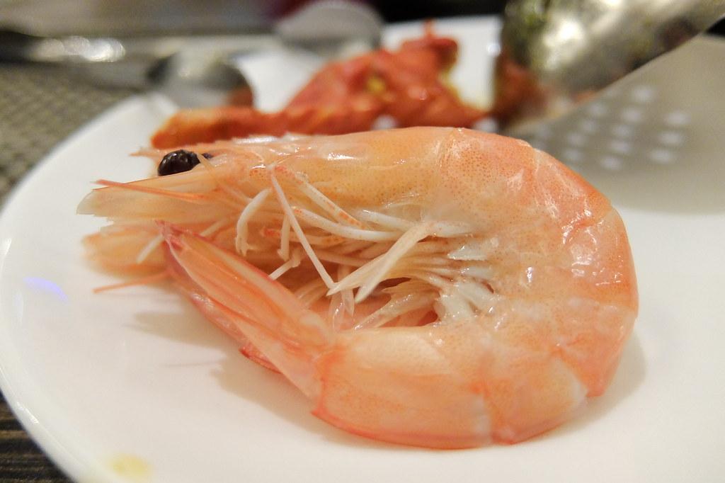 蝦子也算新鮮哩