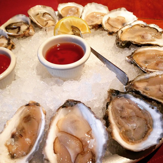 Had so many oysters in DC this trip.