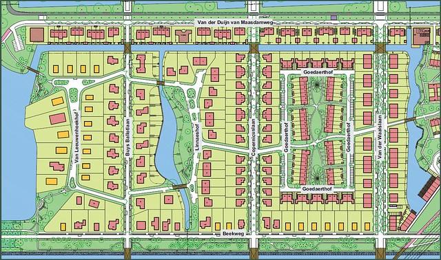 Park16Hoven kaart Vijverbuurt Bovenbeek
