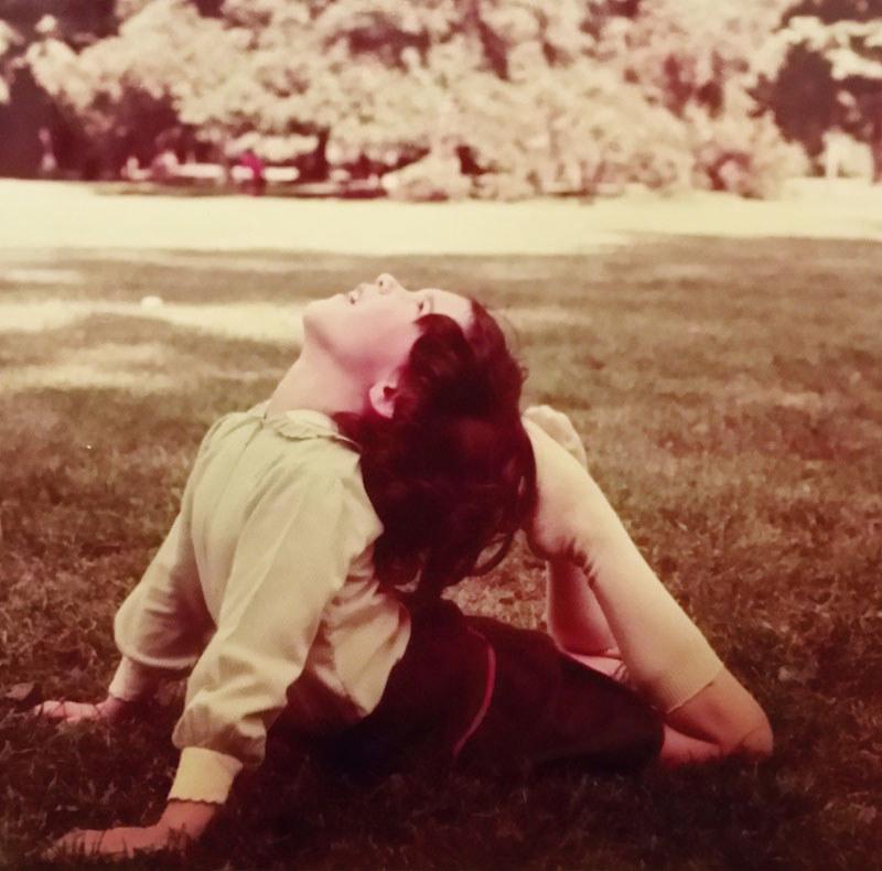 Sara da piccola yoga