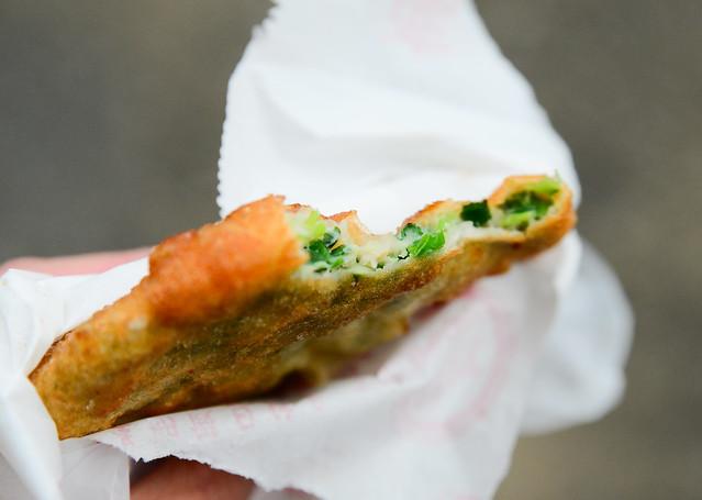 台南 中西區–人氣蔥肉餅–鄭記蔥肉餅