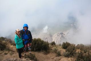 Volcan Santiaguito, Guatemala.