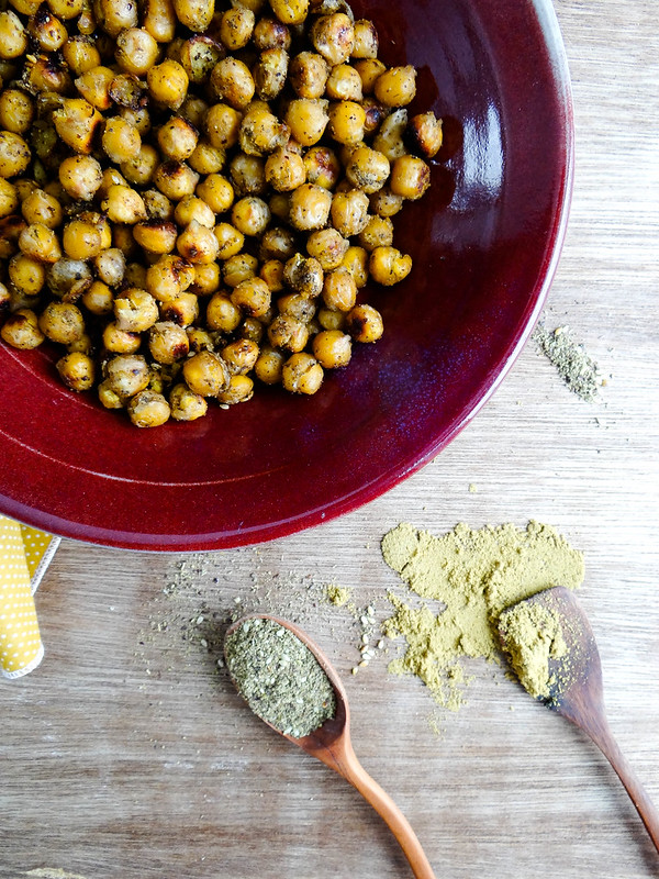 za'atar roasted chickpeas // smbp