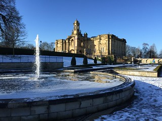 Lister Park in the snow