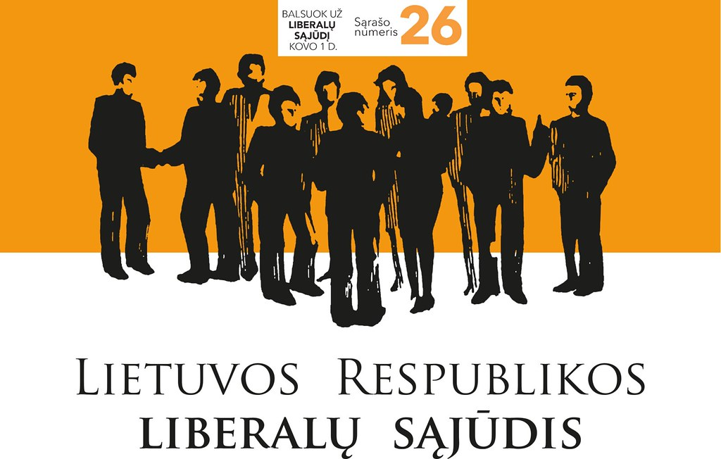 Balsuokite už 26 sąrašą ir reitinguokite kandidatus.