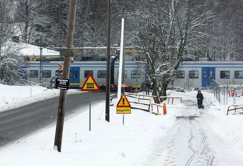 Järnvägskorsning
