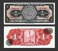 Mexico 1 Peso - 1970s