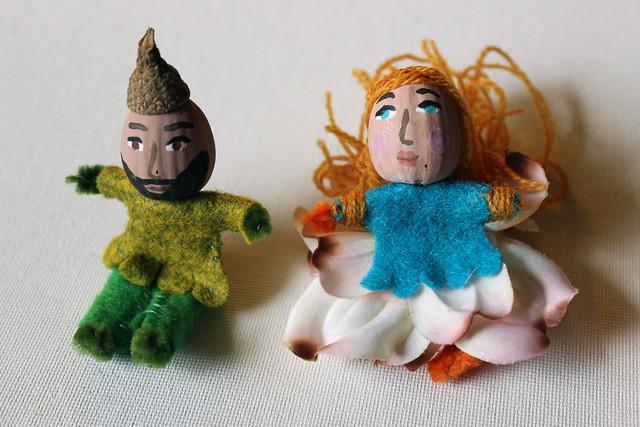 more tiny dolls