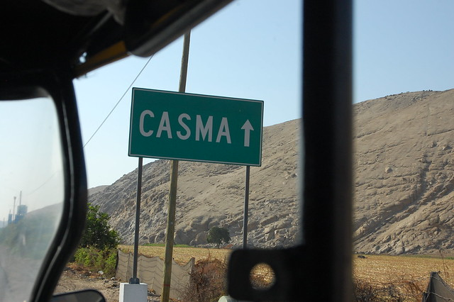 En Route to Casma, Peru