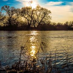 Sunset @ River Aller, Verden, Germany