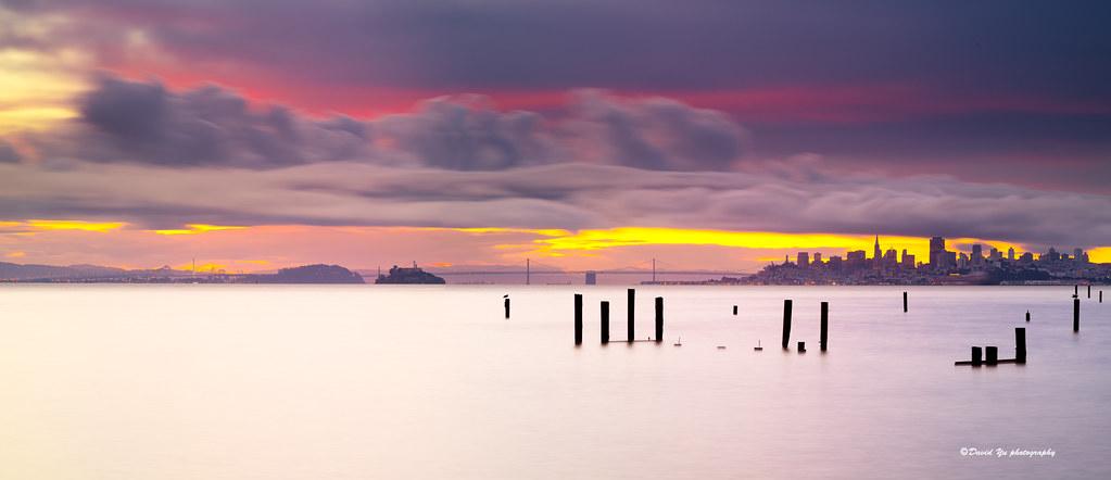 Morning colors - San Francisco bay