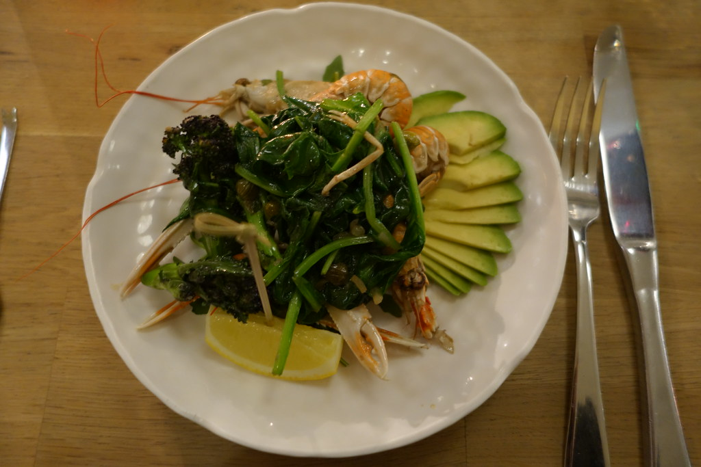 Forge & Co, Shoreditch: Prawn and Avocado Salad