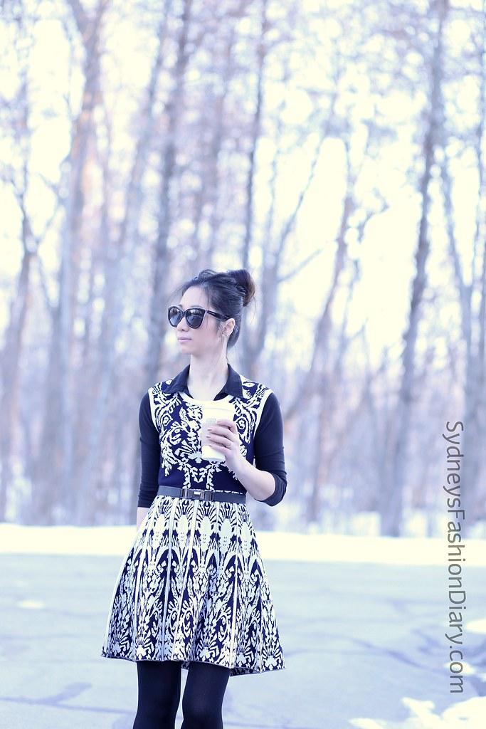 Black&WhiteSweaterDress_SydneysFashionDiary