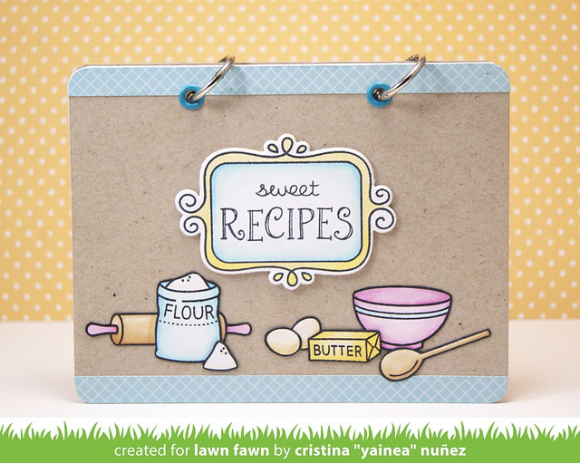 Sweet recipes book - front