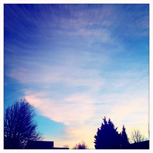cameraphone sunset sky oregon beaverton iphone 2015 hipstanatic
