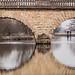 Bridge making spectacles of itself by oxfordwight