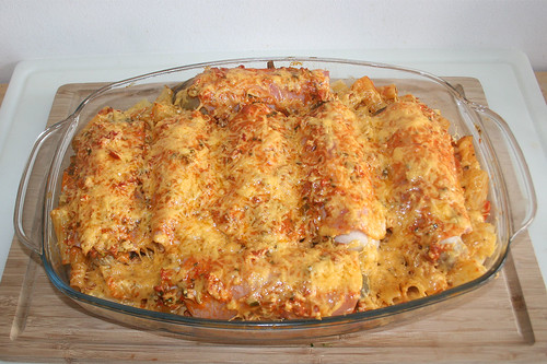 39 - Chicory pasta bake - Gratinated II / Chicoree Nudelauflauf - Fertig überbacken I