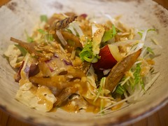 Seasonal Root Vegetable Salad at Kaori-ya Soba [�…