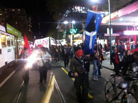 May Day: Swanston St