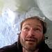 Inside the wee ice cave (ii). by MTBradley